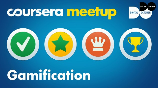 MeetUp курса Gamification в Digital October